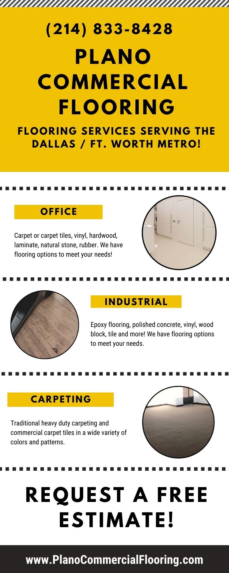 Plano Commercial Flooring (214) 833-8428